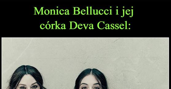 Monica Bellucci i jej córka Deva Cassel
